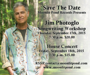 Jim Photoglo Workshop & Concert